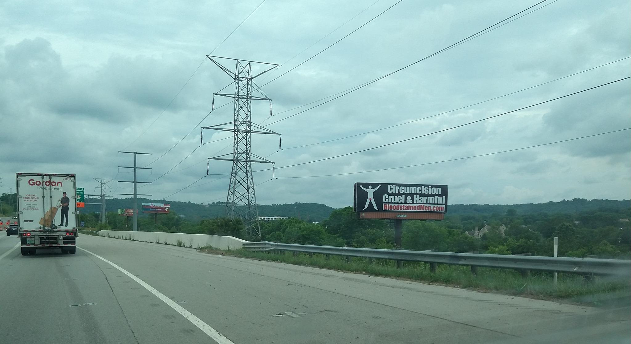 Cincinnati Billboard – Circumcision: Cruel & Harmful