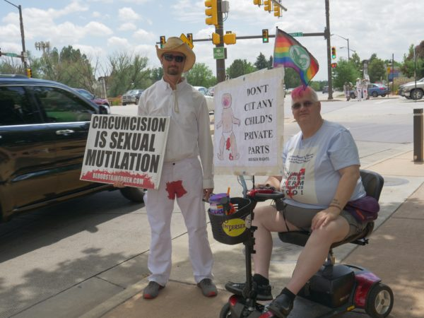 Don't Cut Any Child's Private Parts – Intersex Rights – Circumcision Is Sexual Mutilation