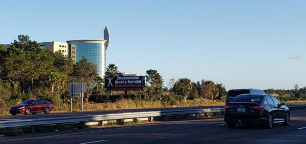 Daytona Beach Billboard – Circumcision: Cruel & Harmful