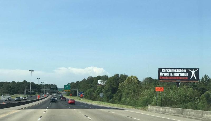 Mobile, Alabama Billboard – Circumcision: Cruel & Harmful