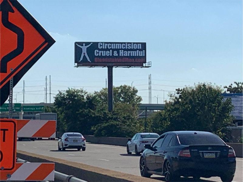 Philadelphia Billboard – Circumcision: Cruel & Harmful